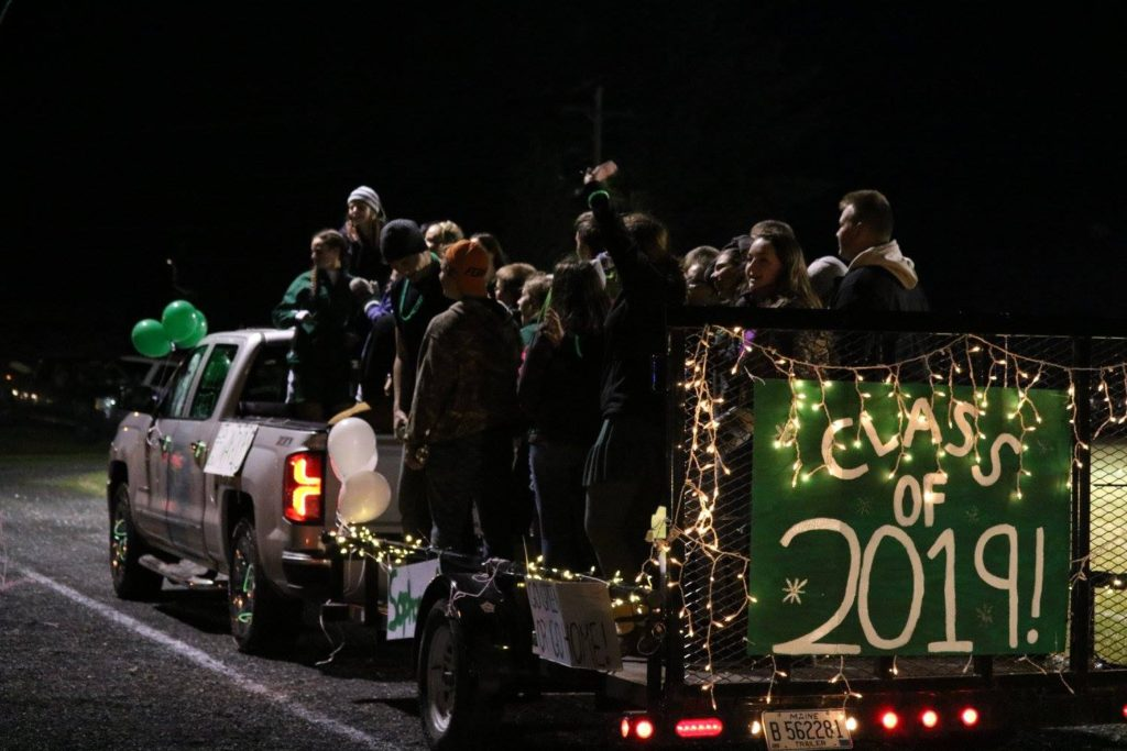 Fort Kent Boosters Club Float Class of 2019